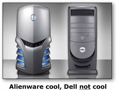 alienware and dell