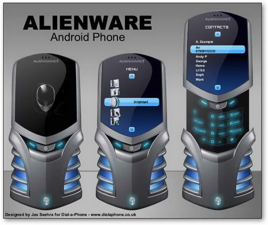 alienware android phone